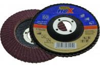 N68822 125/P60 Lamellás csiszolótányér, kúpos korund (10db/dob)