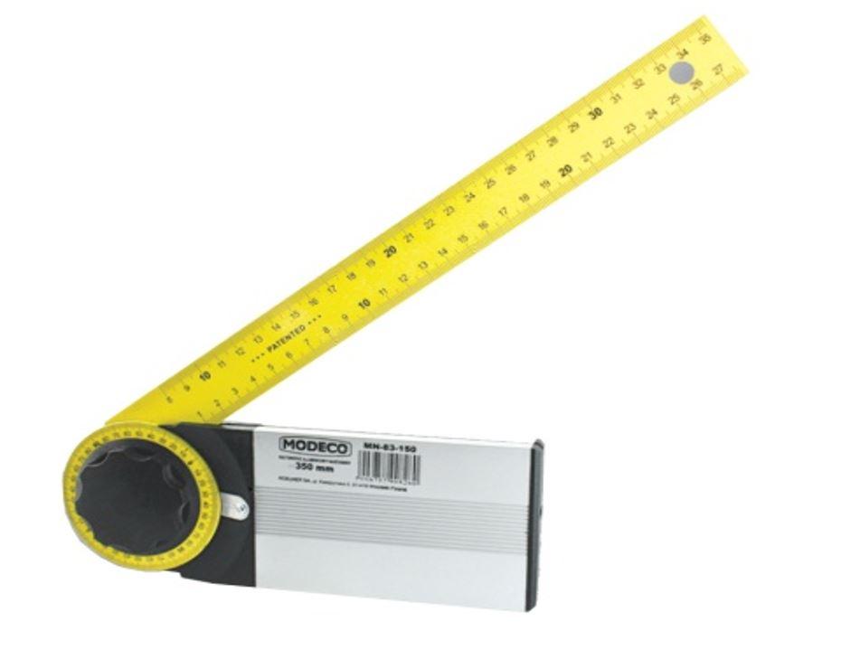 Alumínium szögmérő 350 mm